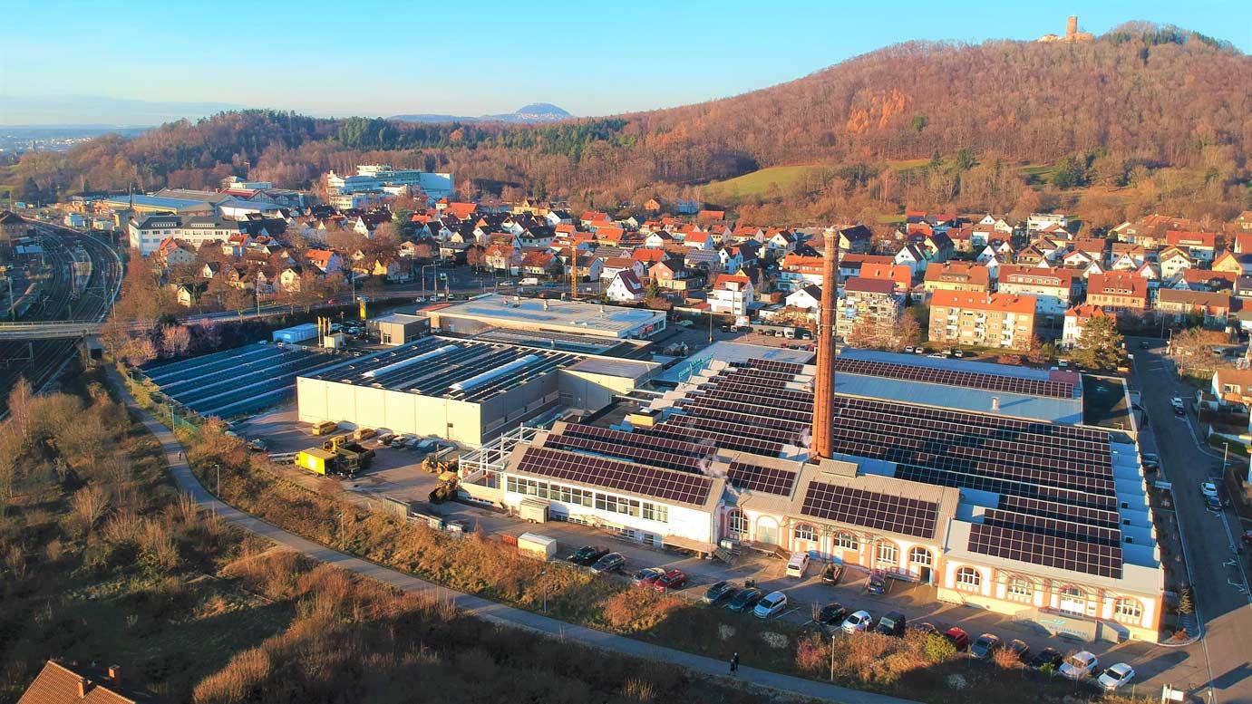 Weidmann-Solaranlage